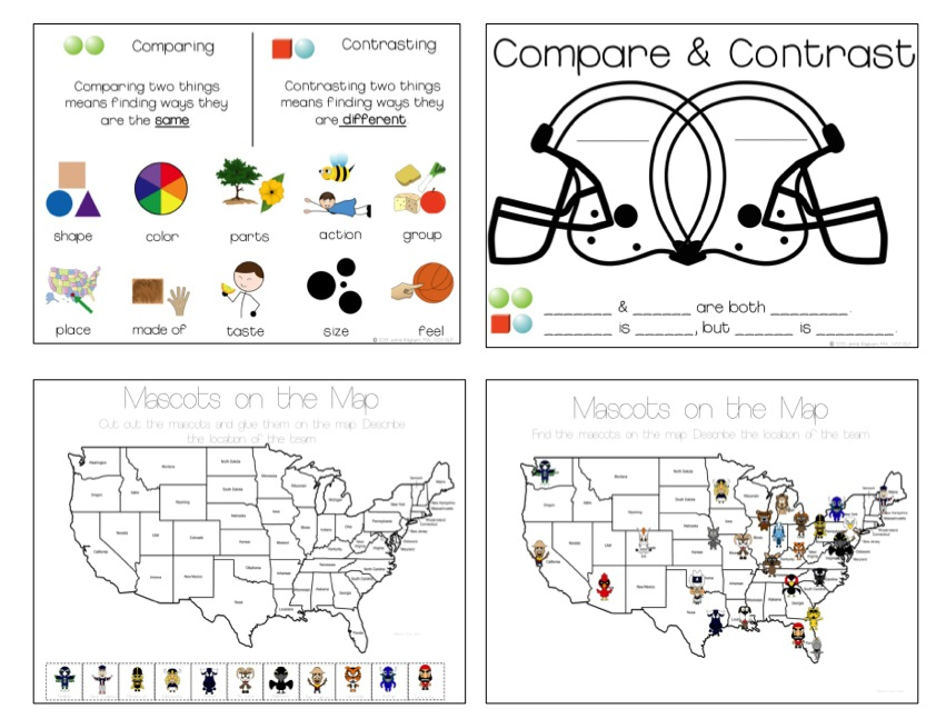 compare and contrast speech