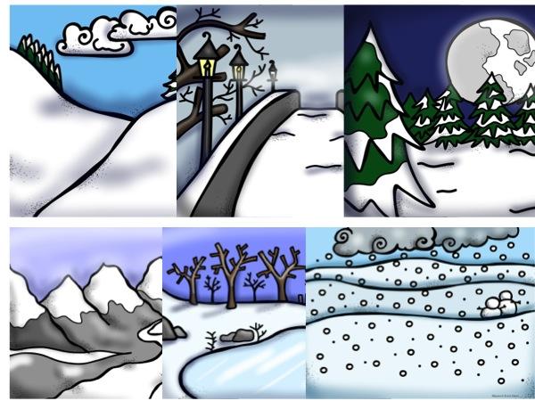 Winter Barrier Games from Speech Room News