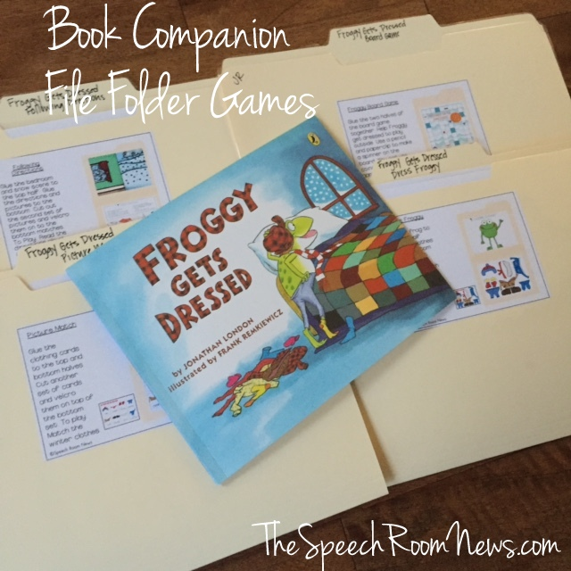 Book Companion: File Folder Games