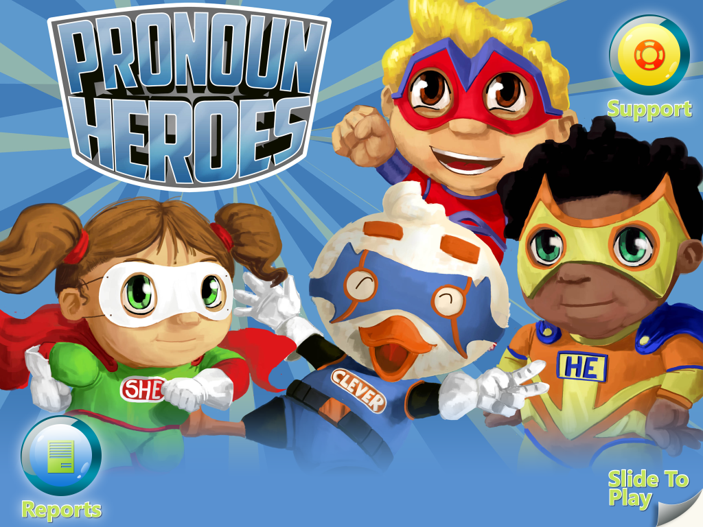 Pronoun Heroes: App Review