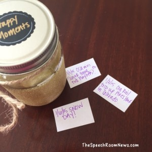 DIY: SLP Happiness Jar