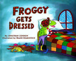 Froggy Gets Dressed Speech and Language Activities