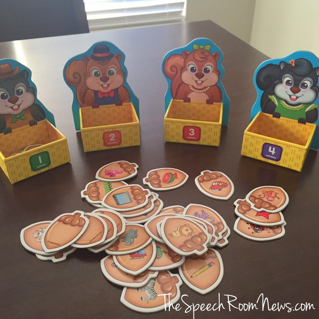 Counting Syllables Squirrel Game