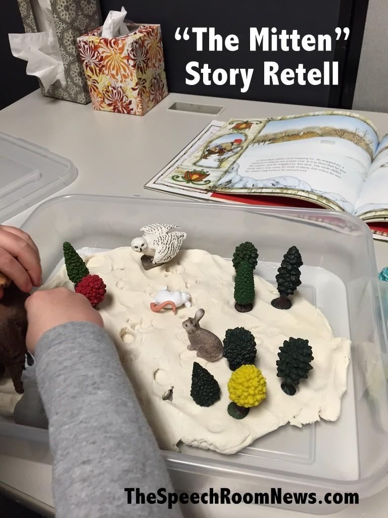The Mitten Story Retell Box