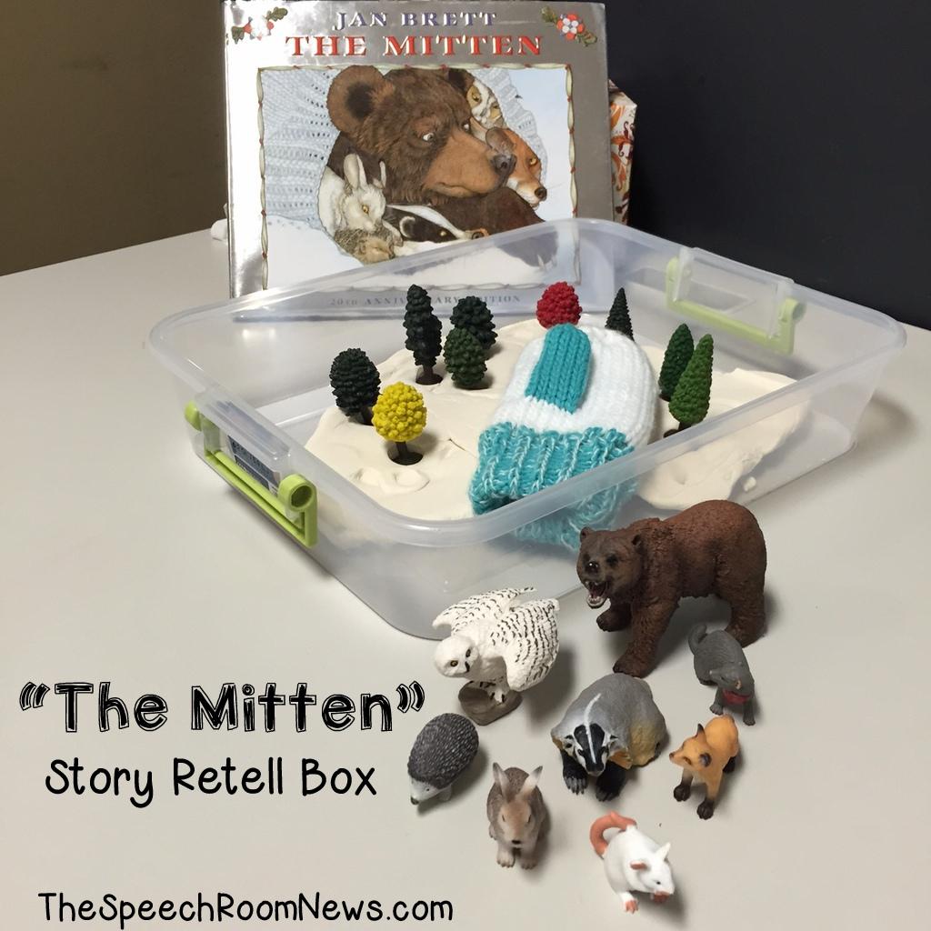 The Mitten: Story Retell Box