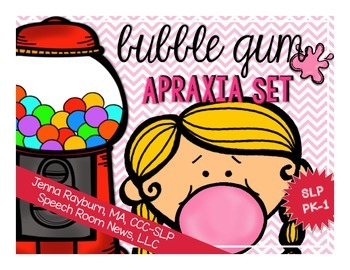 Bubble Gum Apraxia Set from Speech Room News