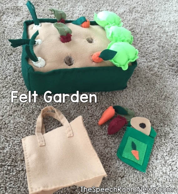 Speech Room News: Felt Garden