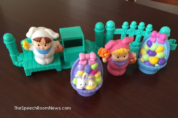 Speech Room News: Easter Little People