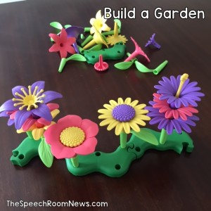 Speech Room News: Build a Garden