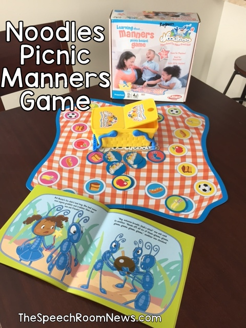 Speech Room News: Picnic Manners