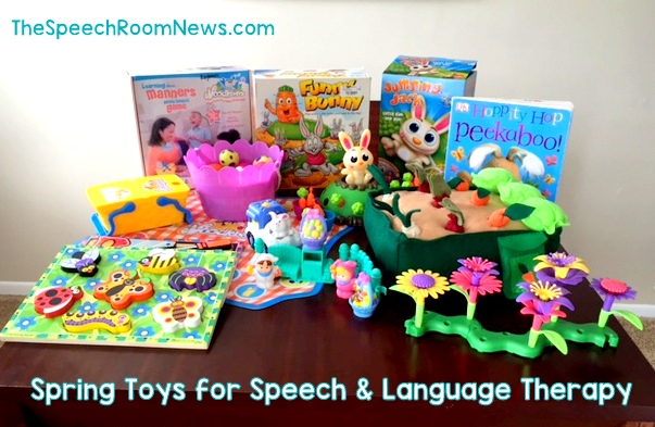 Spring Toys for Speech Therapy