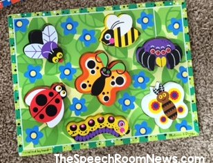 Speech Room News: Bug Puzzles