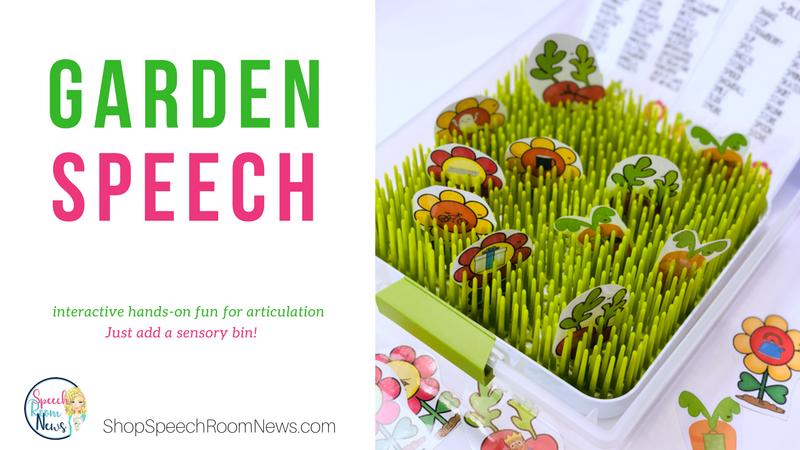 Articulation Garden: Interactive Sensory Tub Activity