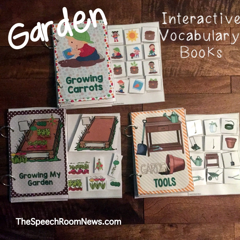 Interactive Vocab Books for Gardening