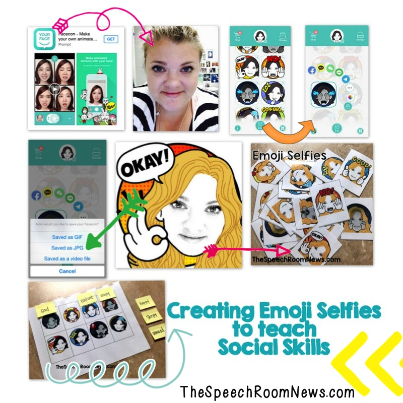 SpeechRoomNews Creating Emoji Selfies
