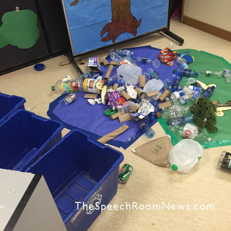 Preschool Recycling Center