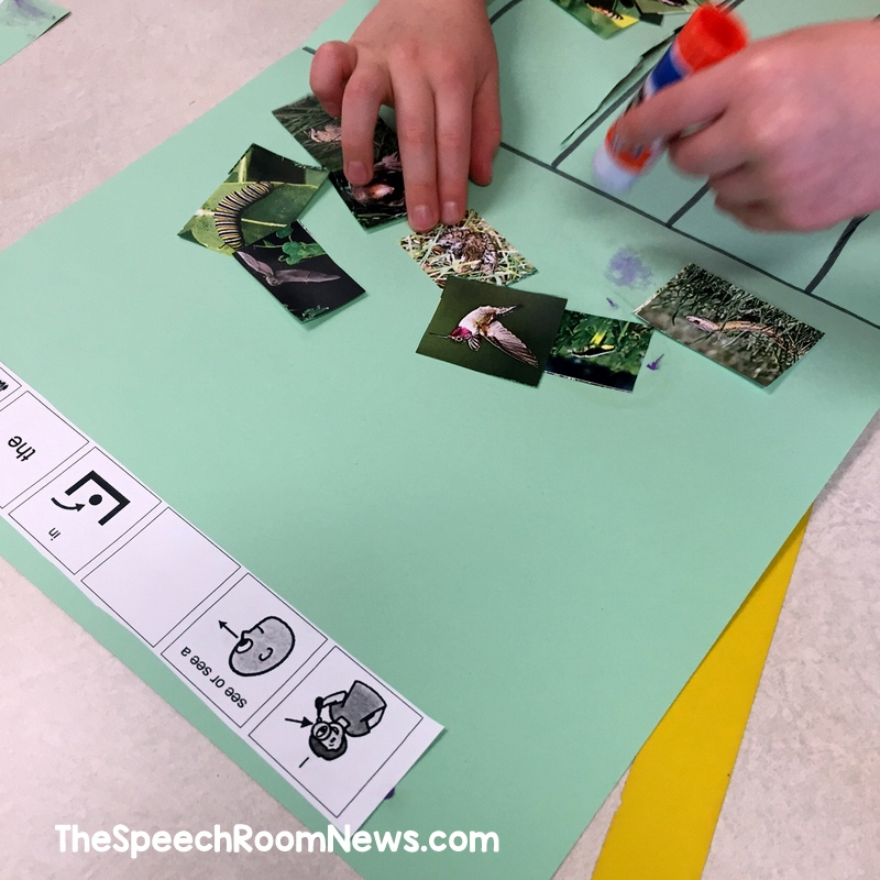 In the Tall, Tall Grass Speech and Language Activities