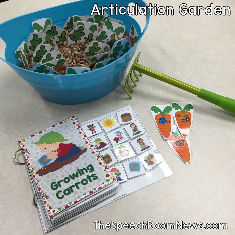 Articulation Garden from Speech Room News