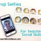 Emoji Selfies: Social Activities