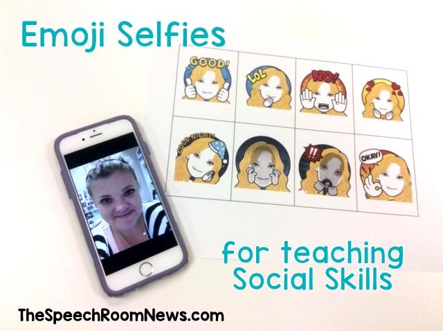 Emoji Selfies from Speech Room News