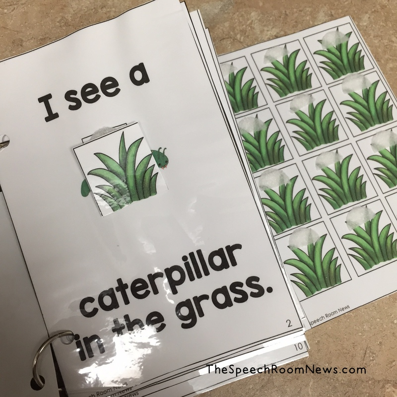 Interactive Tall Tall Grass Book