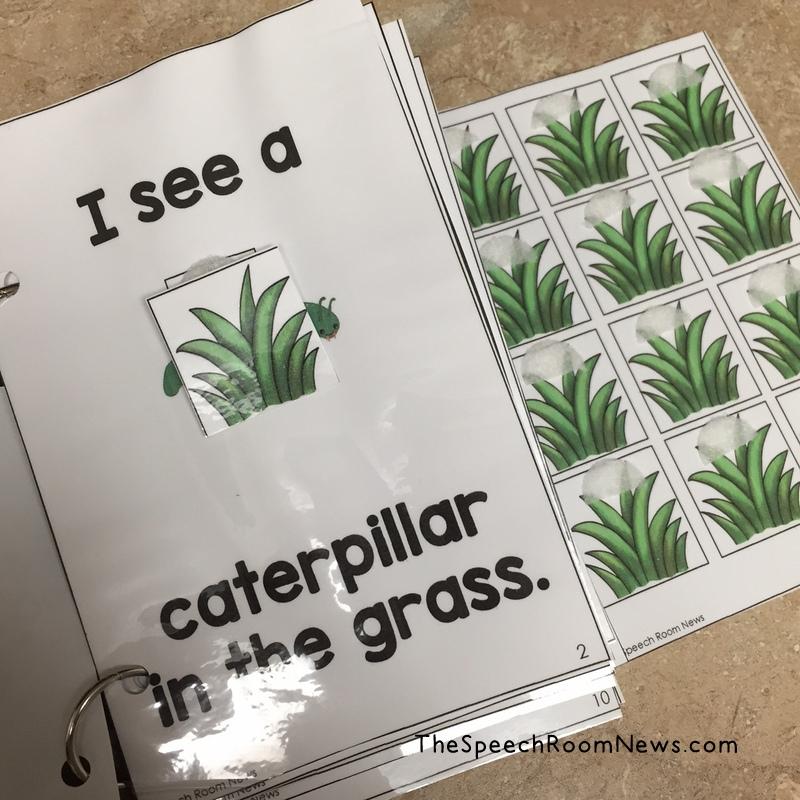 Interactive Tall Tall Grass Book