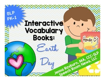 Earth Day Interactive Vocab Books