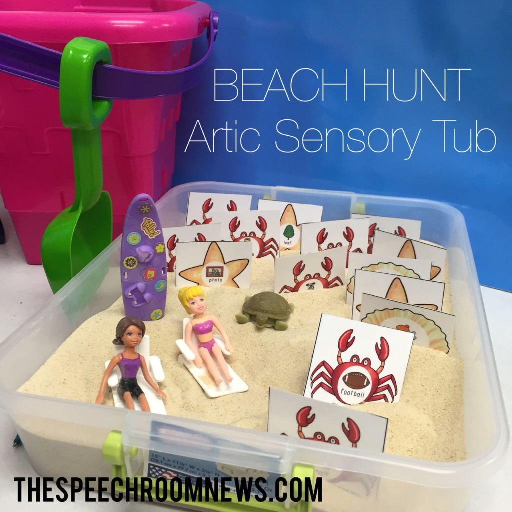 Beach Hunt: Artic Sensory Tub
