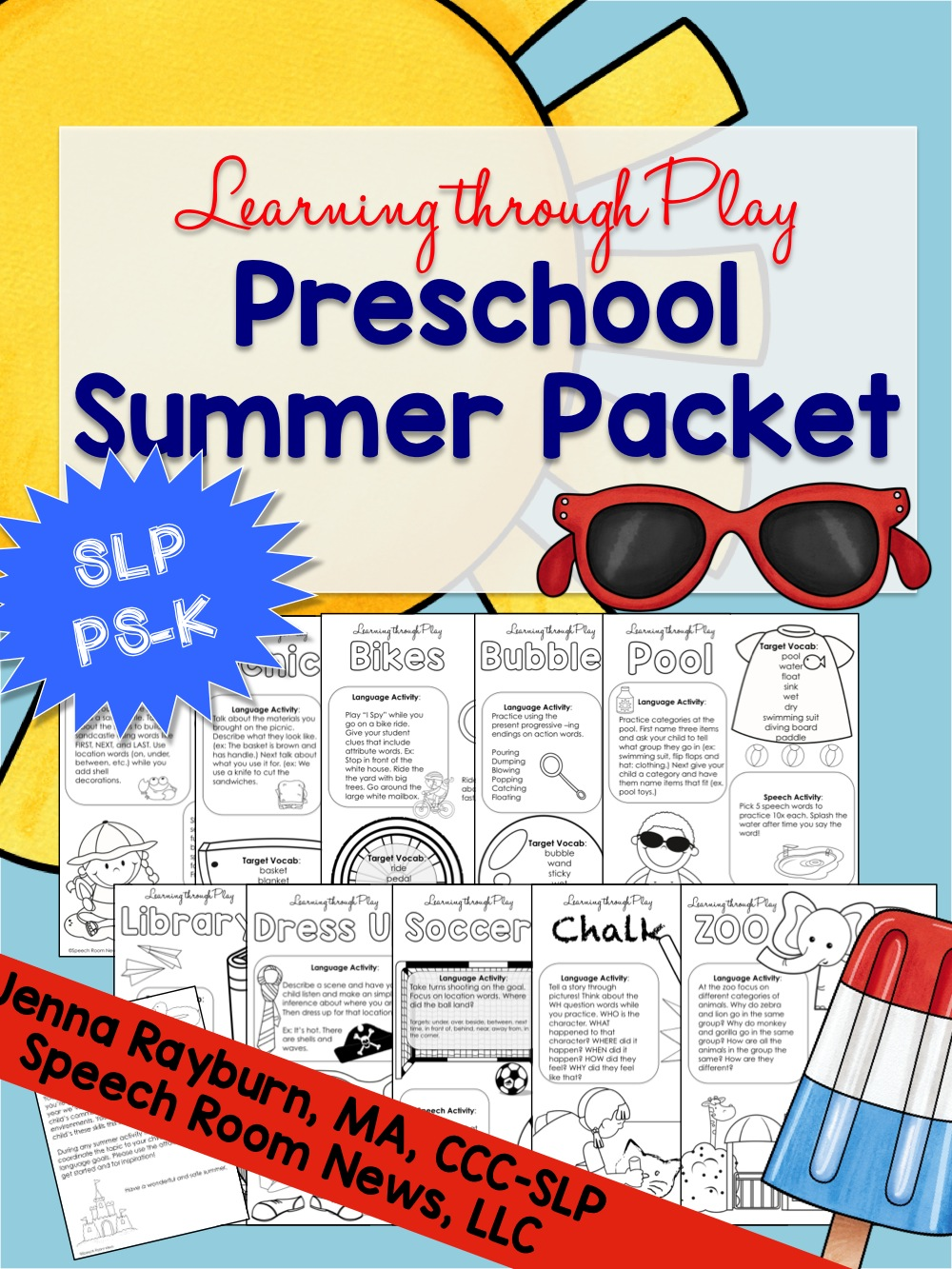 Summer Preschool Packet: Learning Through Play
