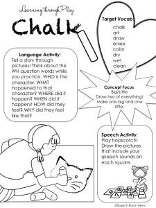 Summer Preschool Handouts