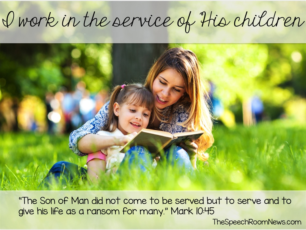 In service of children and God