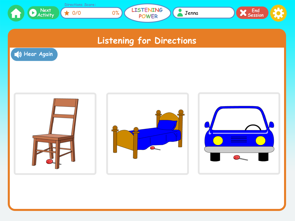 Listening Power: Preschool App Review