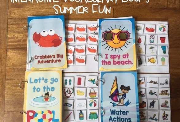Summer Fun: Interactive Vocab Books