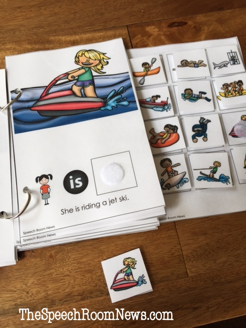 Summer Fun: Interactive Vocabulary Books