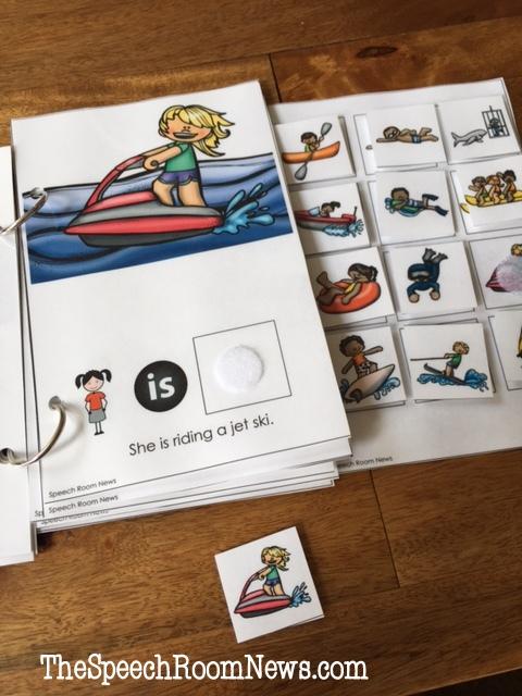Summer Fun: Interactive Vocabulary Books