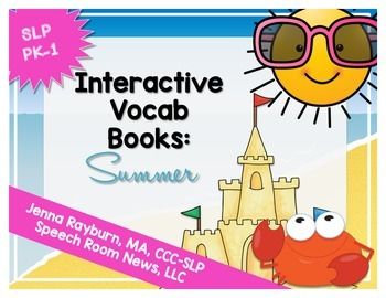 Interactive Vocab Books: Summer Fun