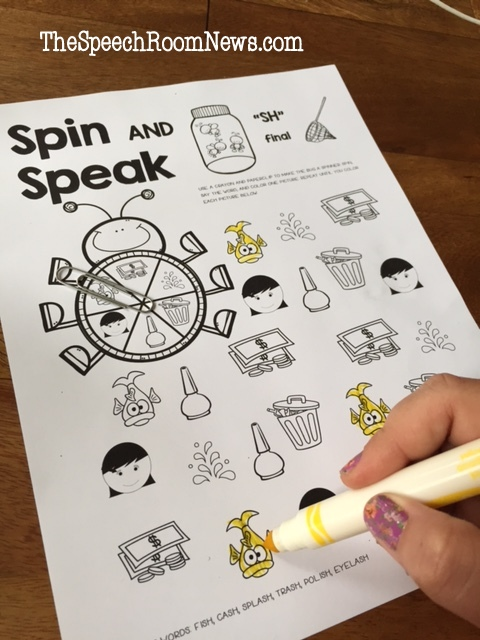 Spin and Speak Bugs