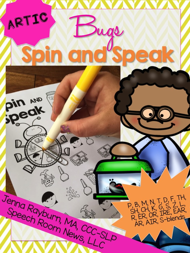 Spin and Speak Bugs Articulation
