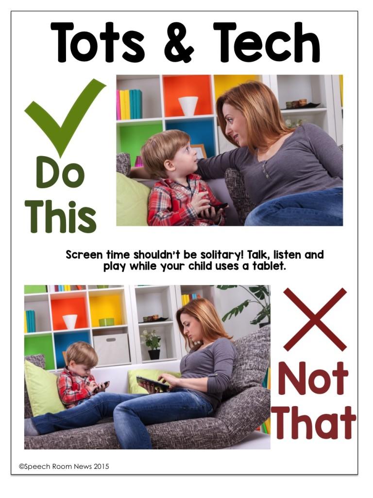 Talking Through Tech: Teaching Parents from Speech Room News