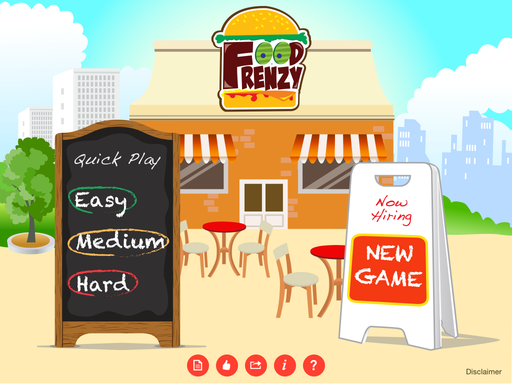 Food Frenzy App Review from Speech Room News