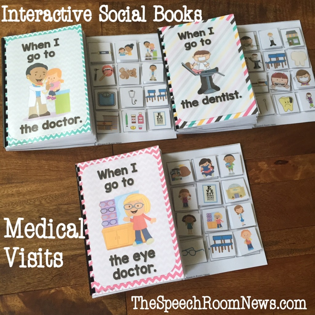 Interactive Social Books: Medical Visits