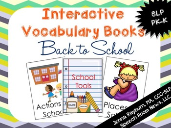 BTS Interactive Vocab Books