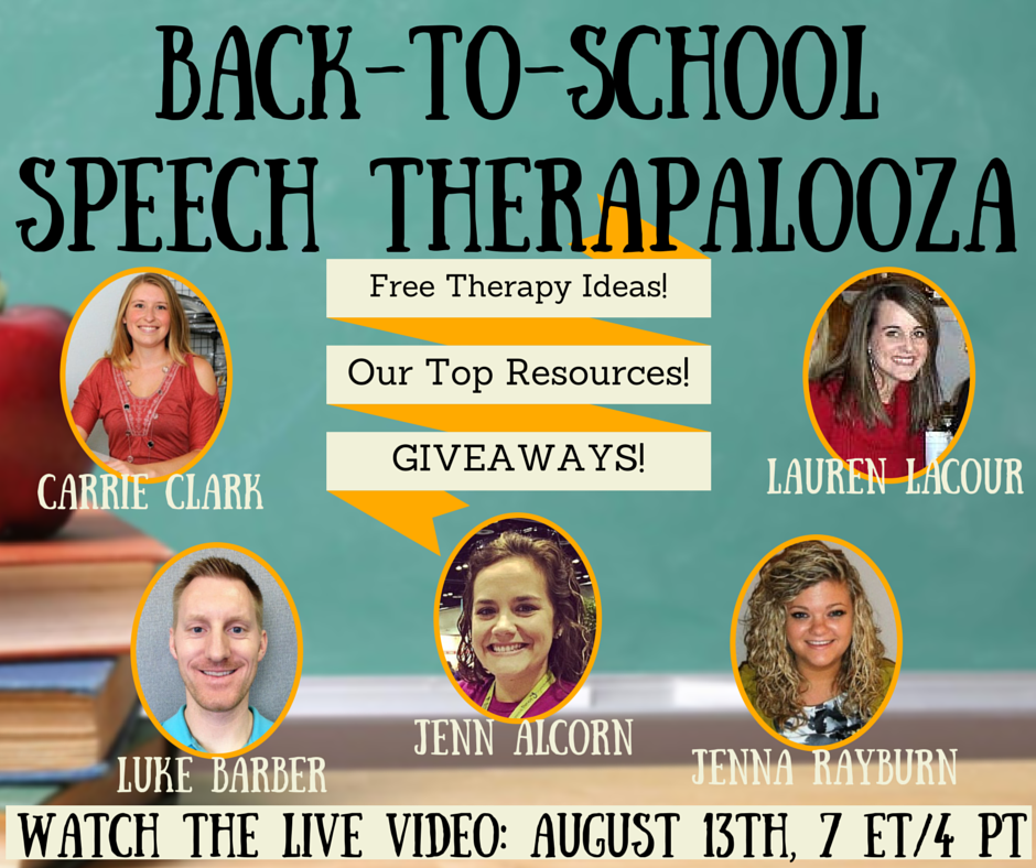 Back-To-SchoolSpeech Therapalooza
