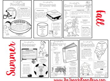 Learning through Play Handouts