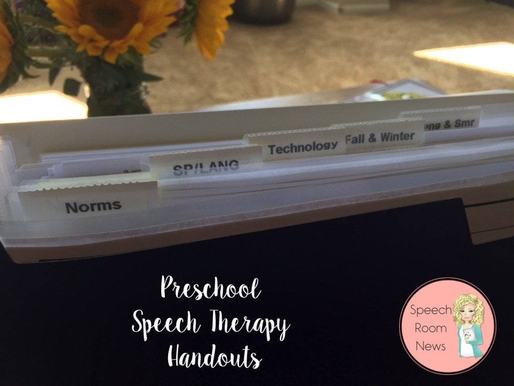 Expanding File Folder for organizing Parent Hanouts