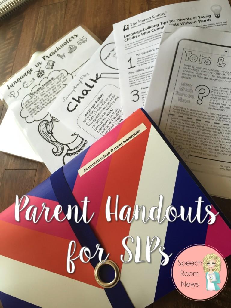 Parent Handouts