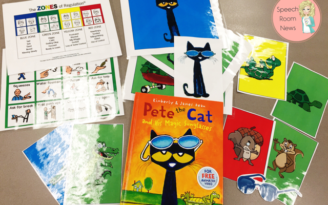 Pete the Cat and Zones of Regulation