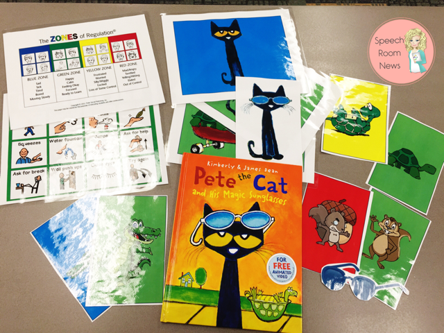 Zones of Regulation Pete the Cat