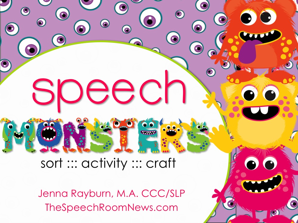 Speech Monsters by Speech Room News