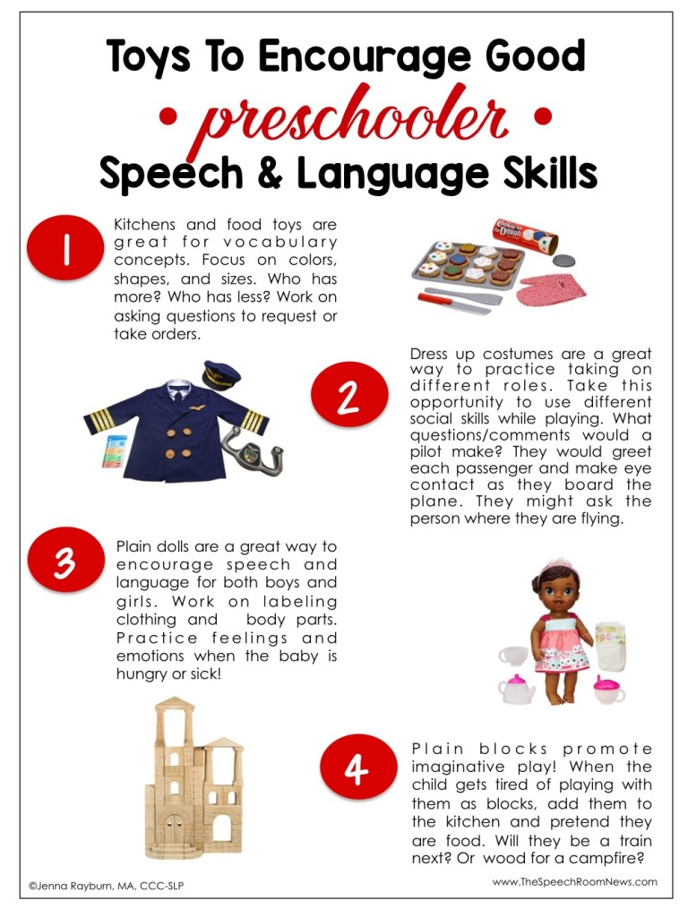 Preschool Toys to Increase Speech and Language Skills